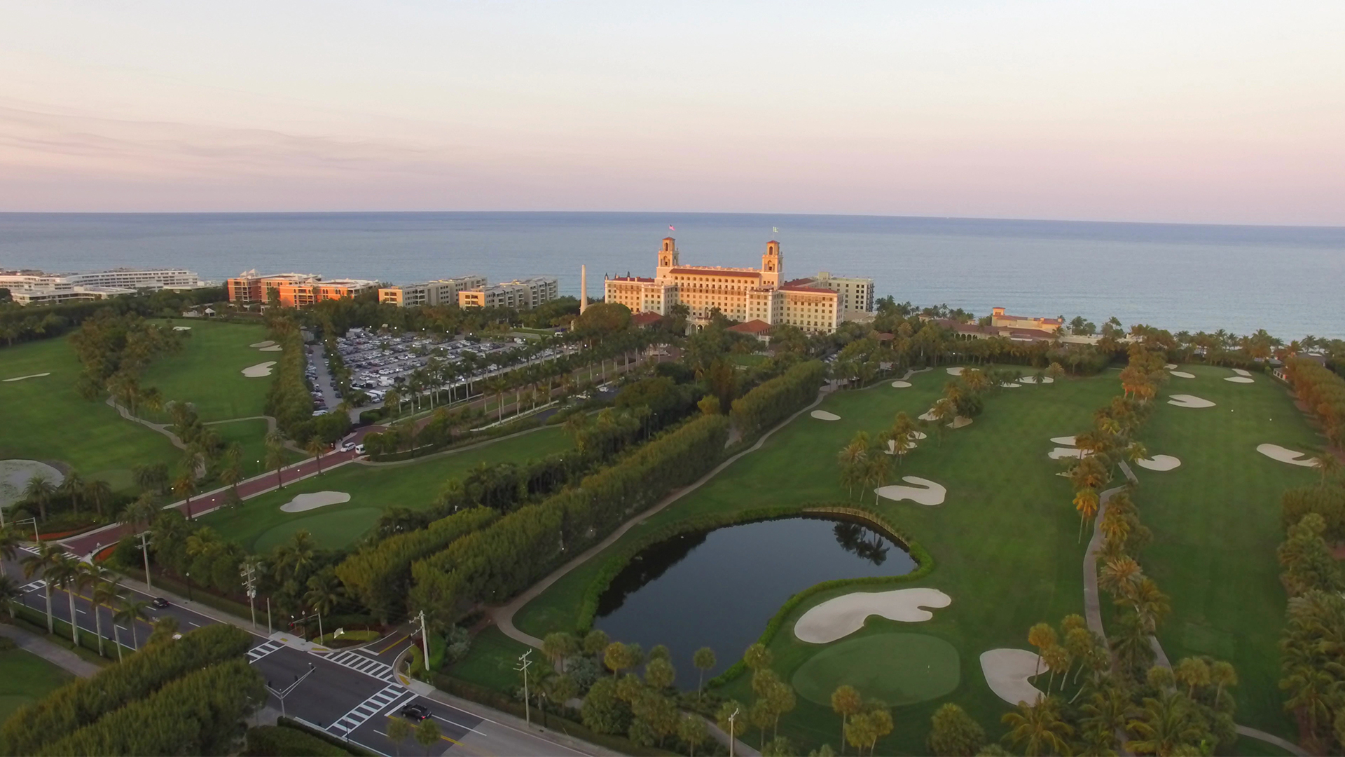 Serene links by the ocean at The Breakers